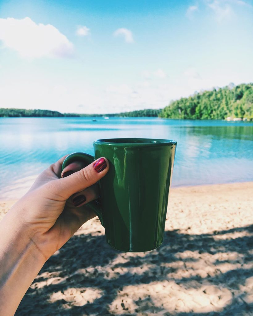 Good Morning! ☕️ #coffeewithaview Bom dia! Que o nosso domingo seja abençoado!