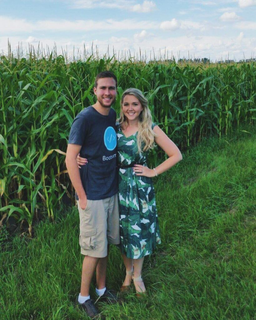 #fbf to the cornfields of Minnesota! Aquela com o milharal