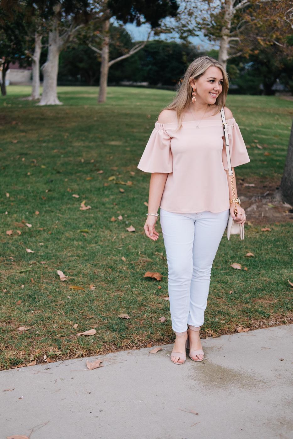 Debora Dahl wearing neutral colors