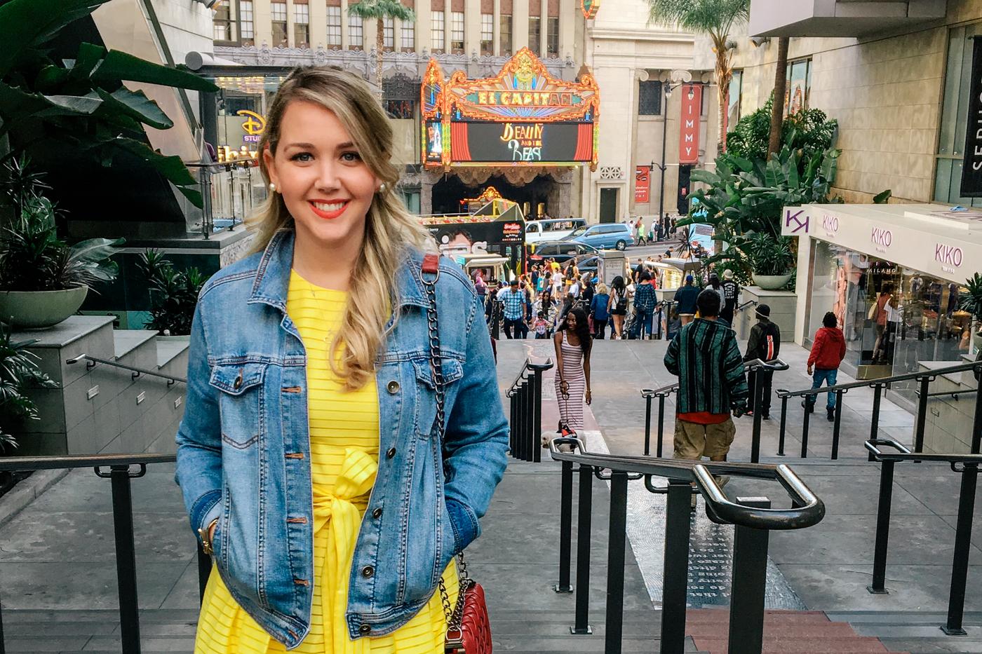 Debora Dahl, Beauty and the Beast at El Capitan in LA