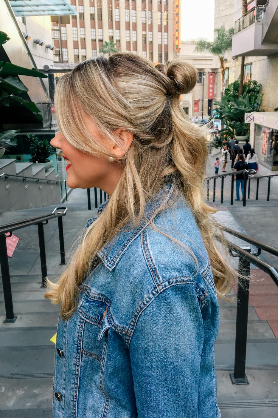 Debora Dahl, cabelo inspirado da Bela de a Bela e a Fera
