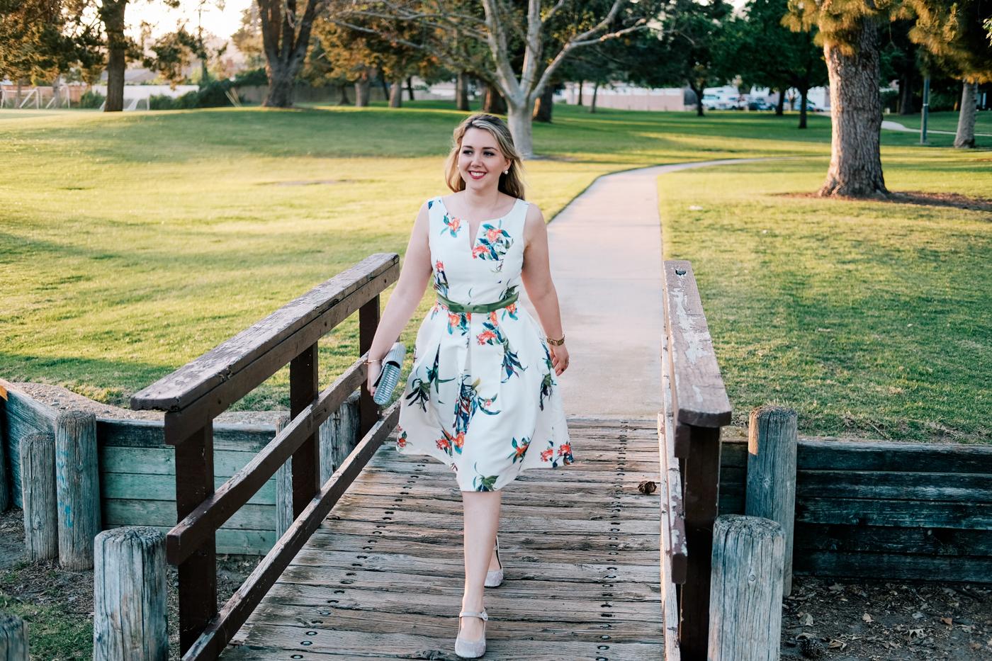 Debora Dahl, vestido para noivado