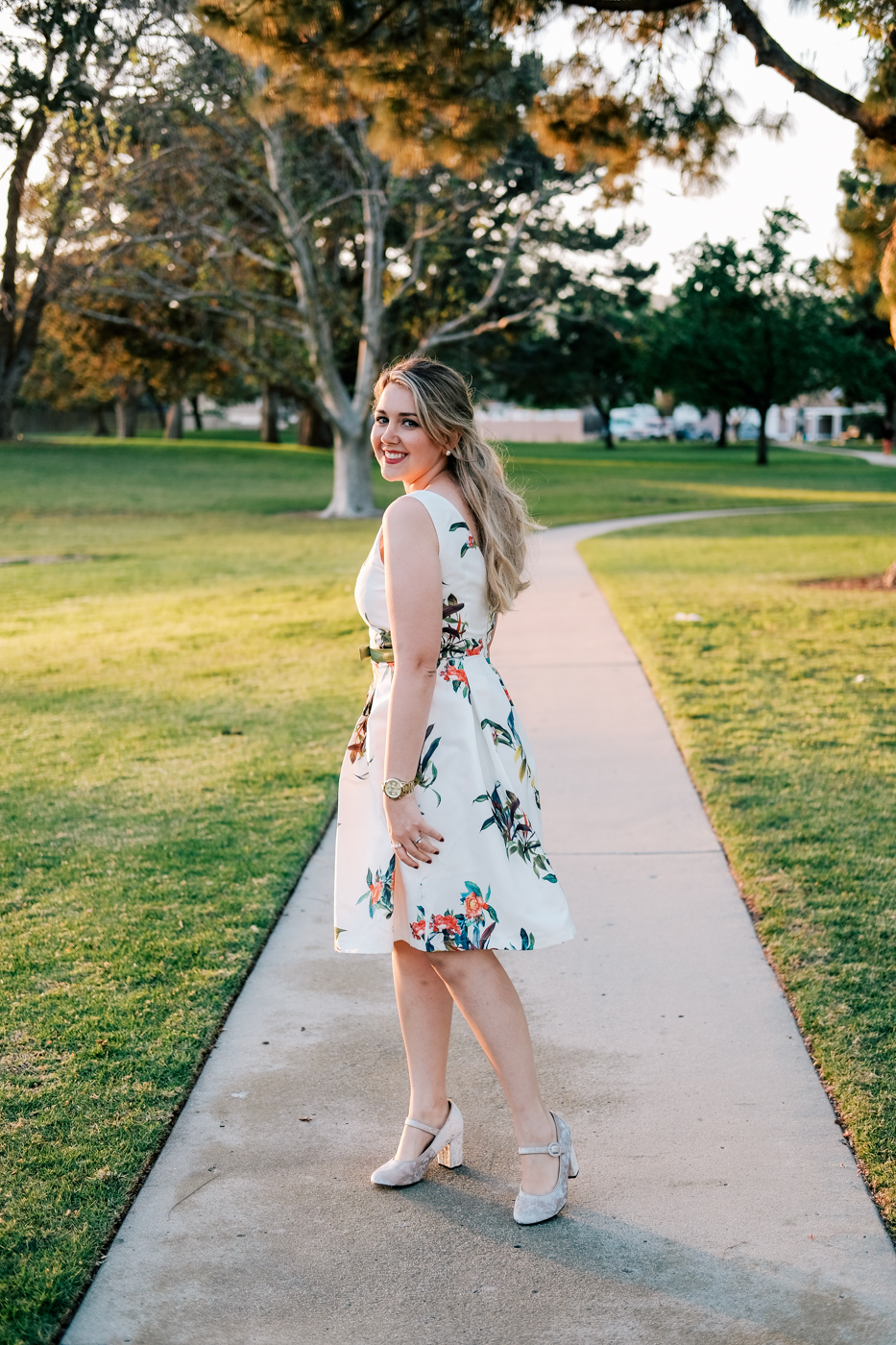 Debora Dahl, primavera no parque