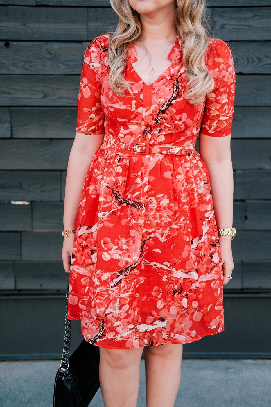 Debora Dahl, vintage inspired dress
