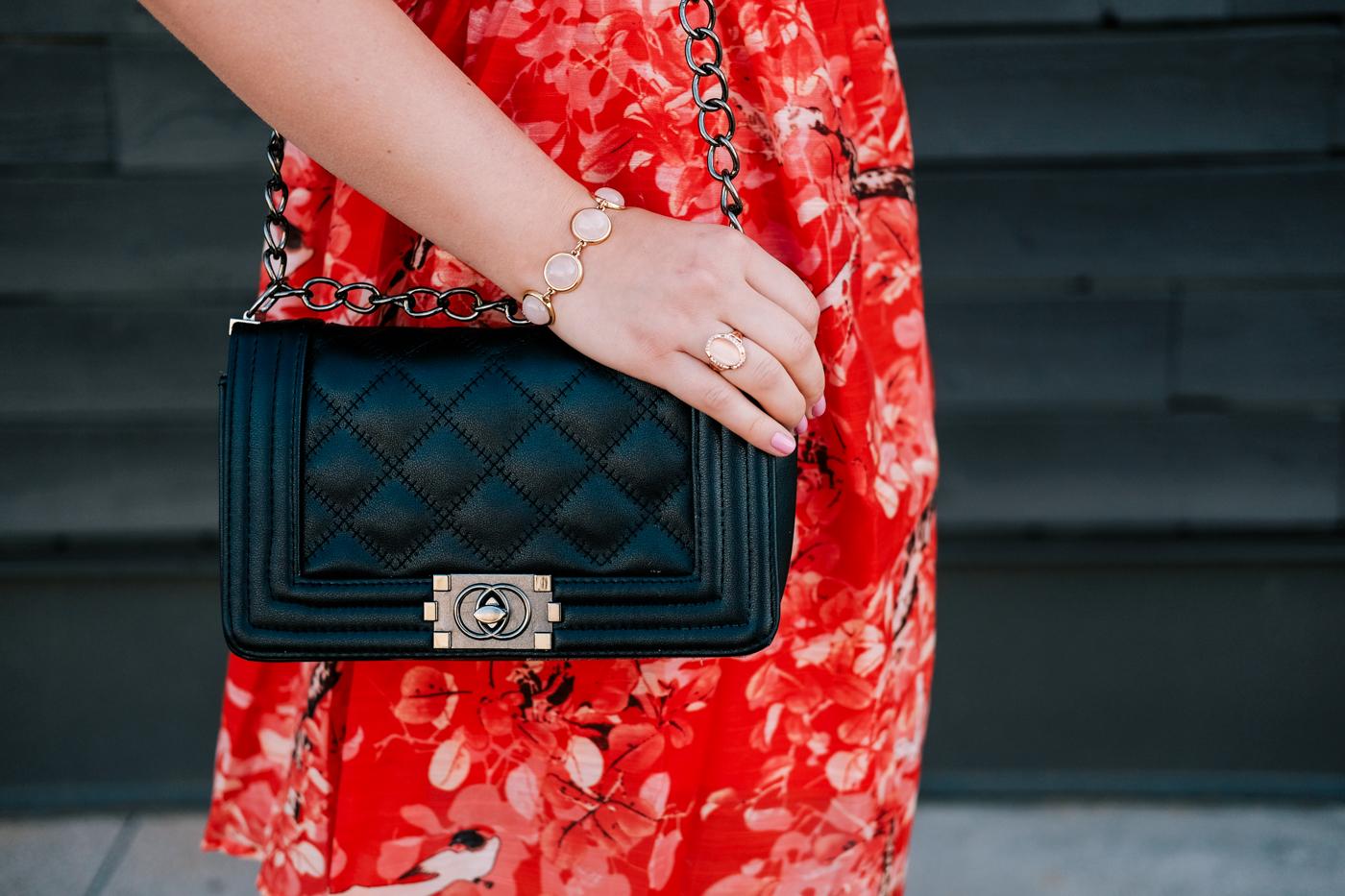 Debora Dahl, black handbag - bolsa preta