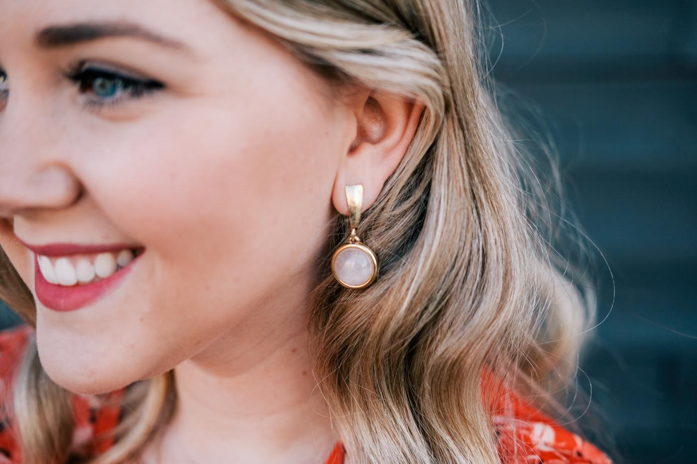 Debora Dahl, earrings - brinco