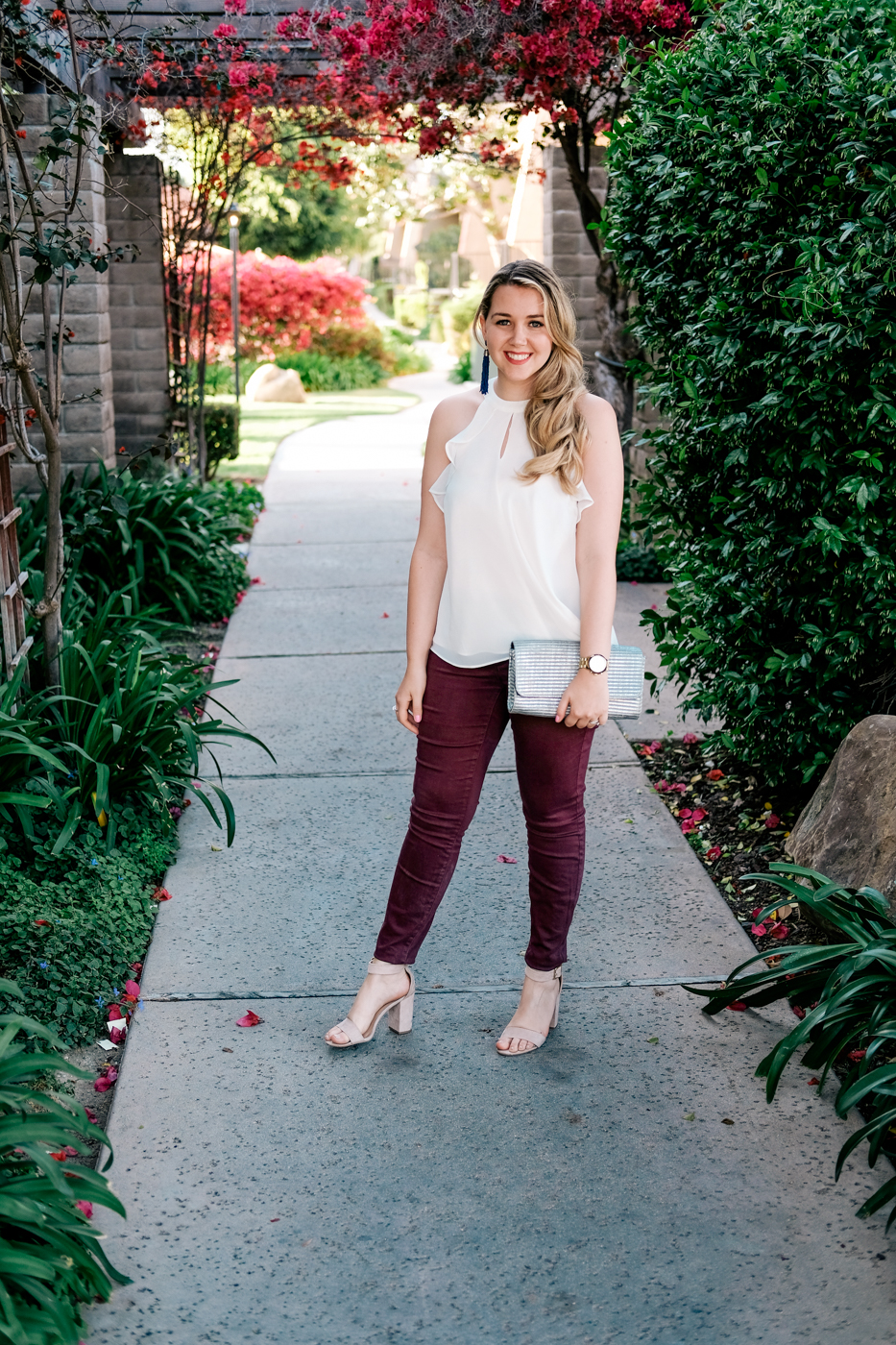 Debora Dahl, halter top LC Lauren Conrad