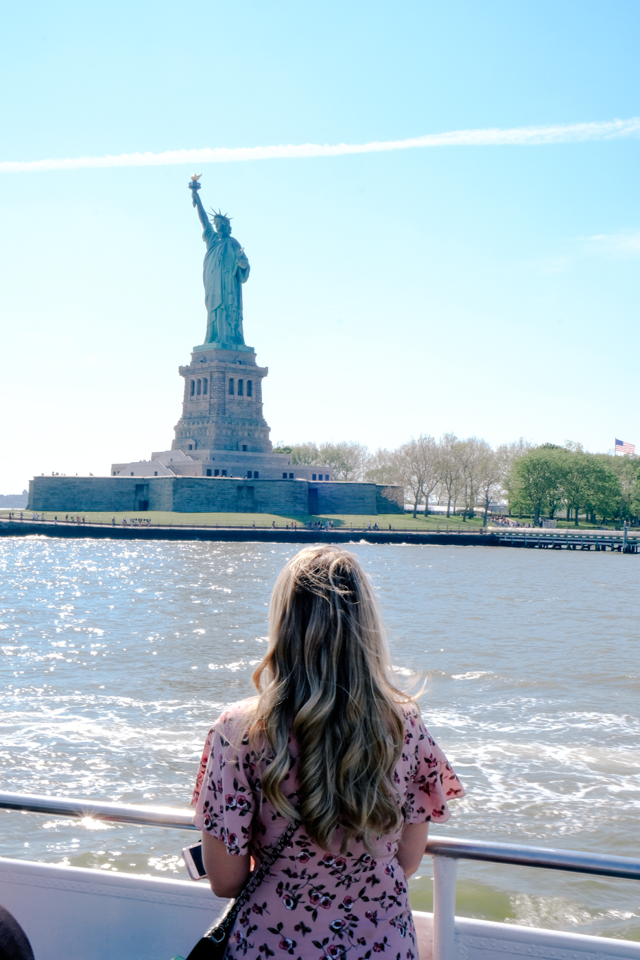 Debora Dahl, circle line boat tour, statue of liberty