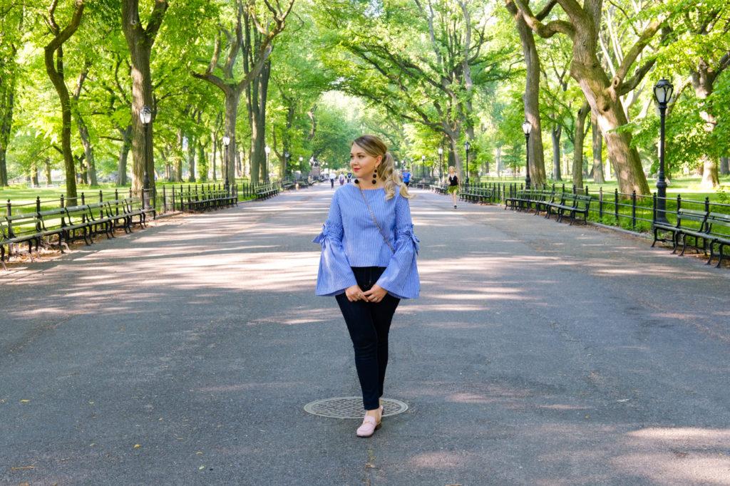 Debora Dahl, Central Park, Nova York